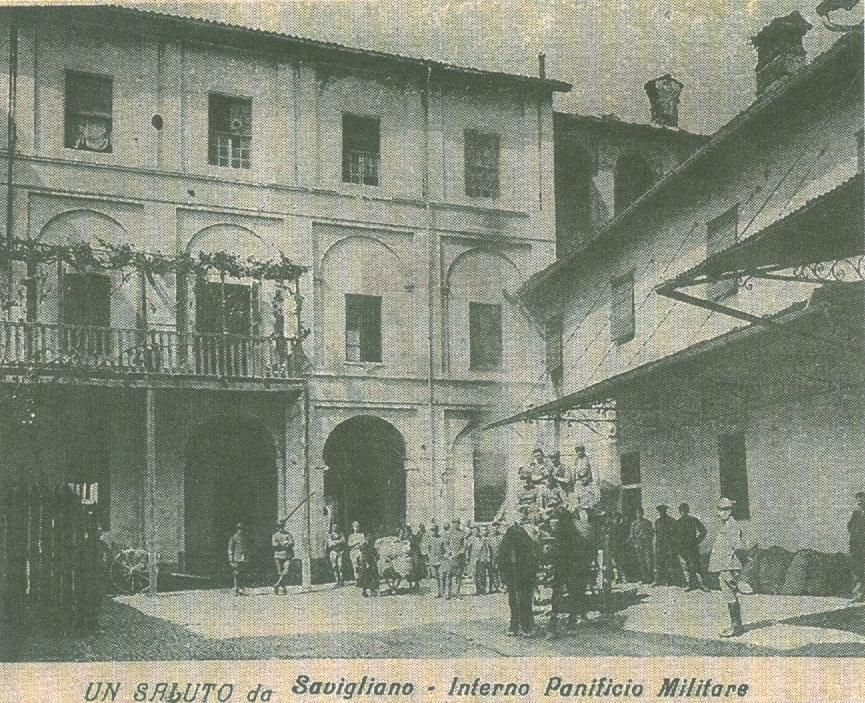 Savigliano, panificio militare