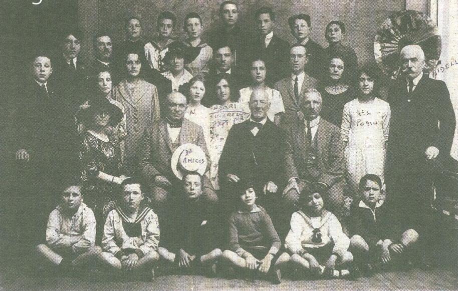 Professori e studenti del Regio GInnasio