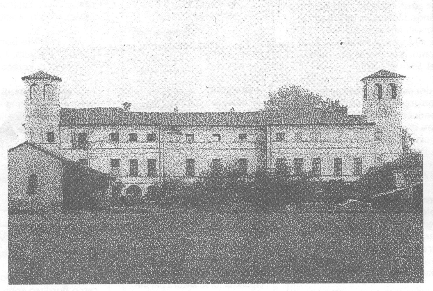 Il palazzo delle Canevere
