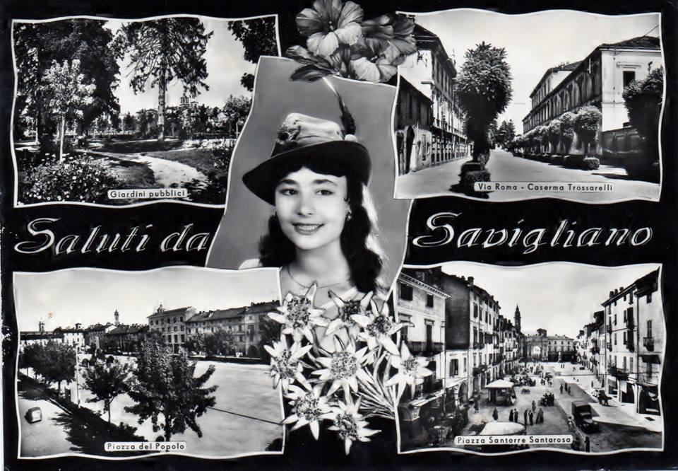 Cartolina di Savigliano