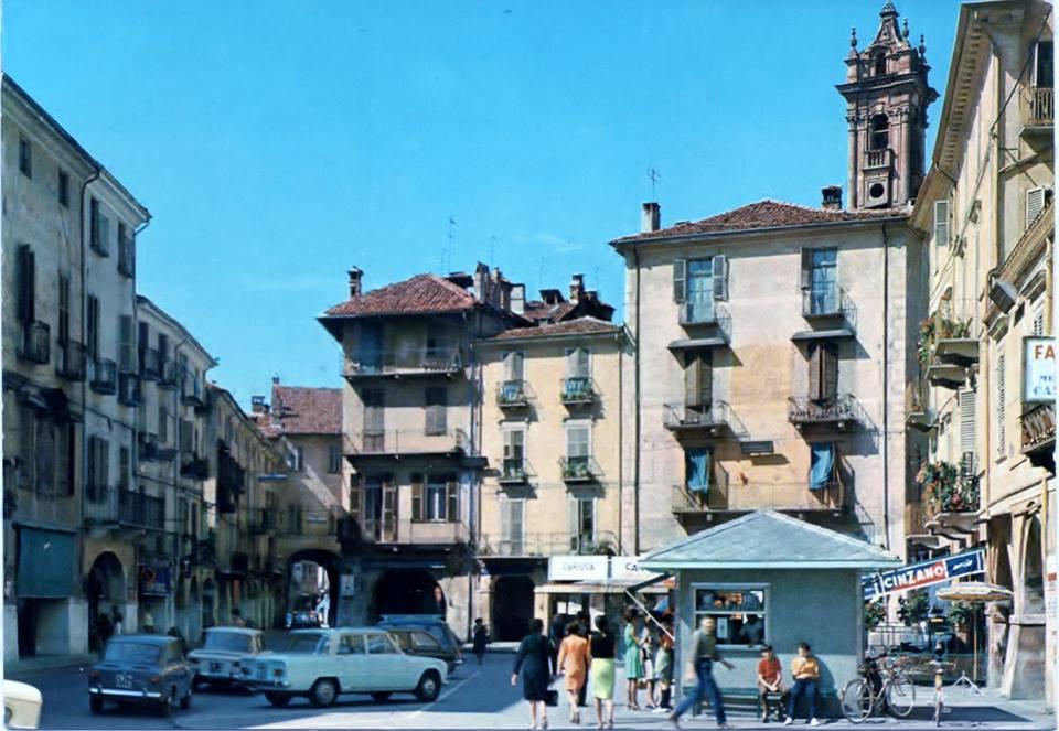Piazza Santarosa di giorno
