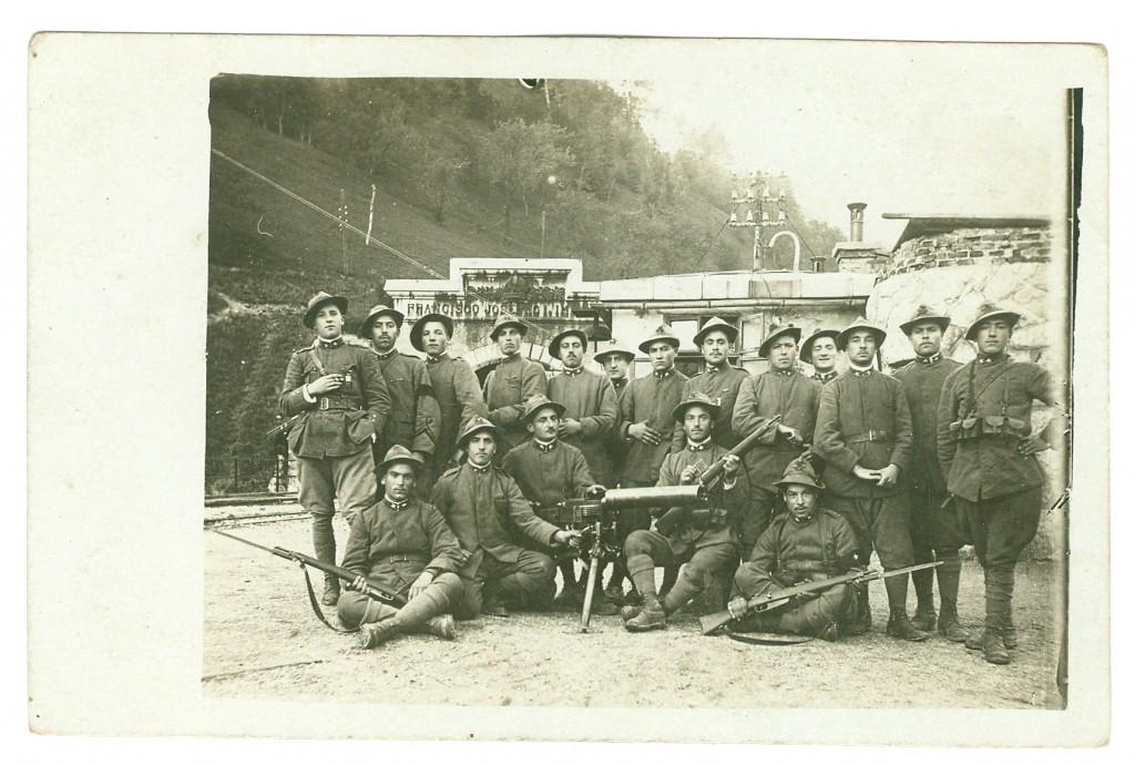 5° Reggimento Alpini. Battaglione Valtellina. 246° Compagnia. Sezione mitragliatrice