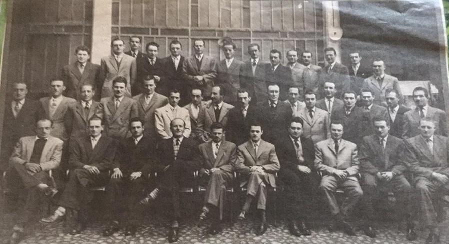 Savigliano: fotografia della leva 1922