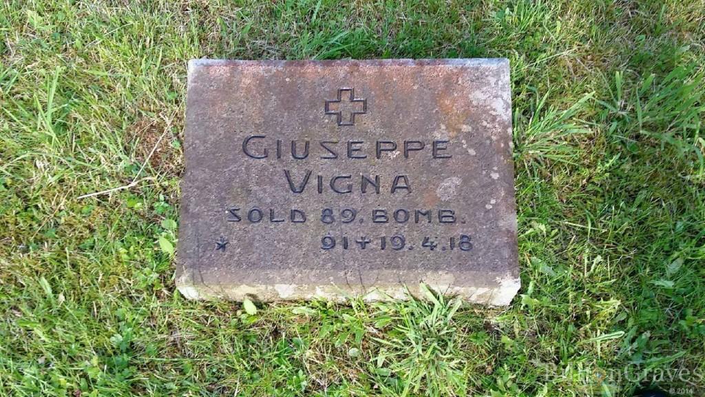 Tomba di Giuseppe Vigna
