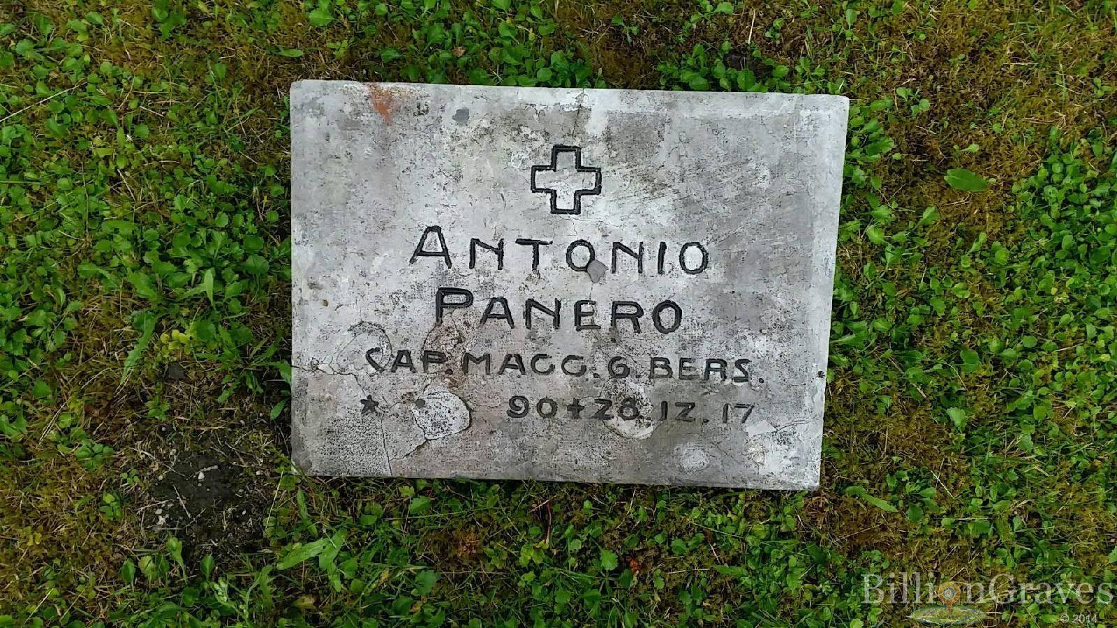 Sergente del sesto Reggimento Bersaglieri, nato a Savigliano e morto durante la 1. guerra mondiale.