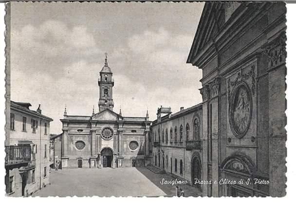 Savigliano: Chiesa e Piazza San Pietro