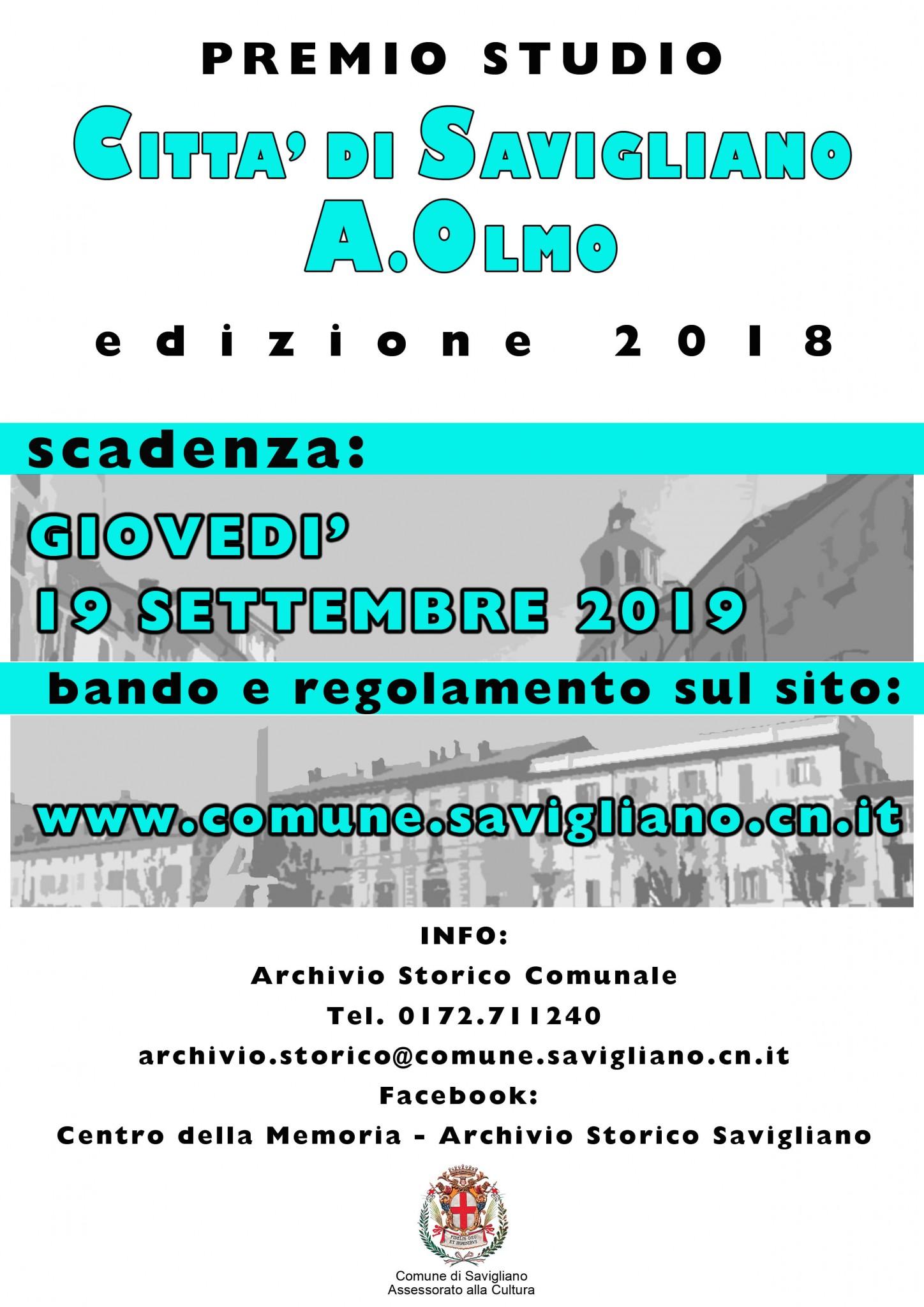 Locandina Premio Olmo 2018 copy