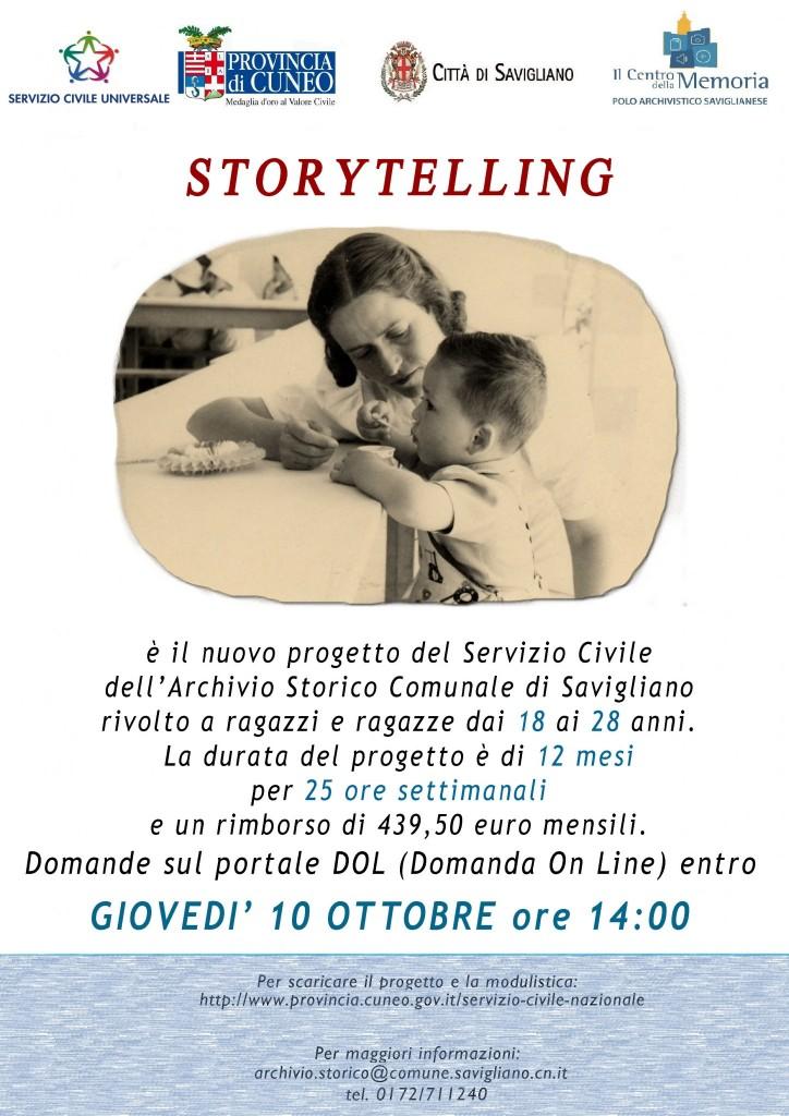 Locandina Servizio Civile 2019