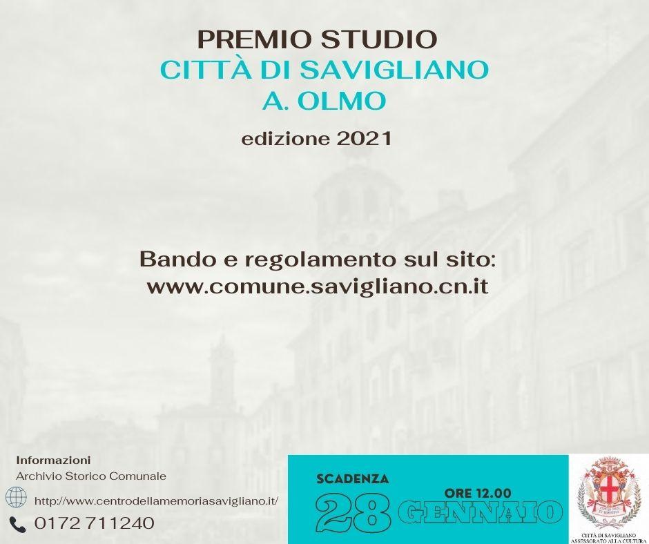 Bando Olmo 2021