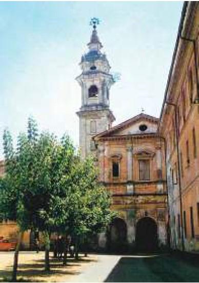 Facciata della Crosa Neira a Savigliano