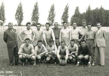 """I """"Maghi"""" della Saviglianese durante il compionato del 1951-52"""