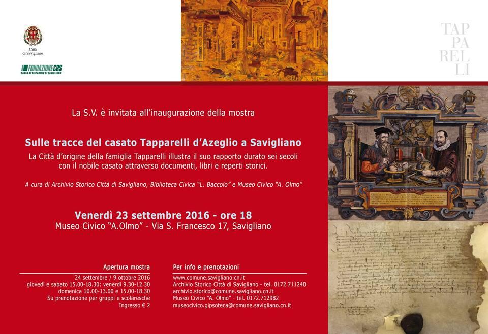 Inaugurazione mostra Tapparelli