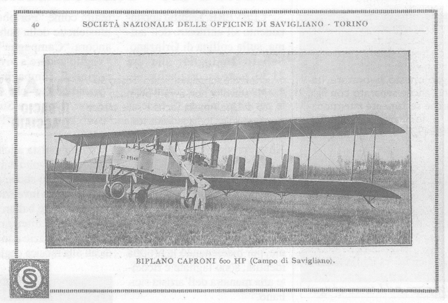 Il campo d'aviazione della SNOS